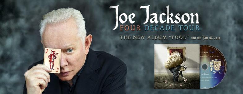 Joe Jackson ha intrapreso un tour per i 40 anni di carriera