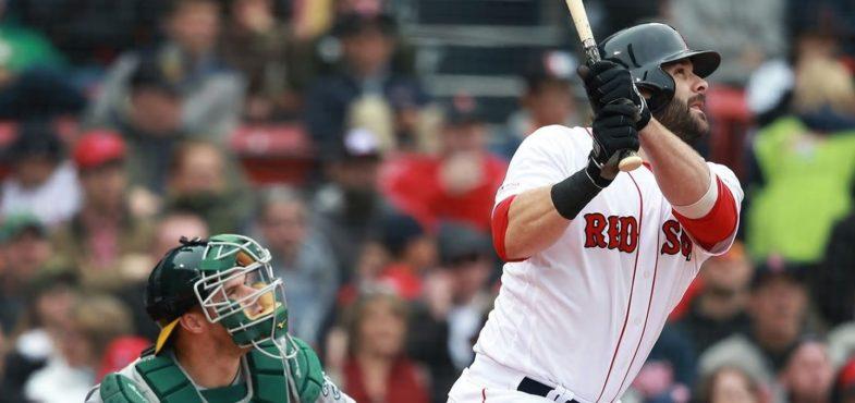 Con gli homer di Moreland i Red Sox verso Media 500