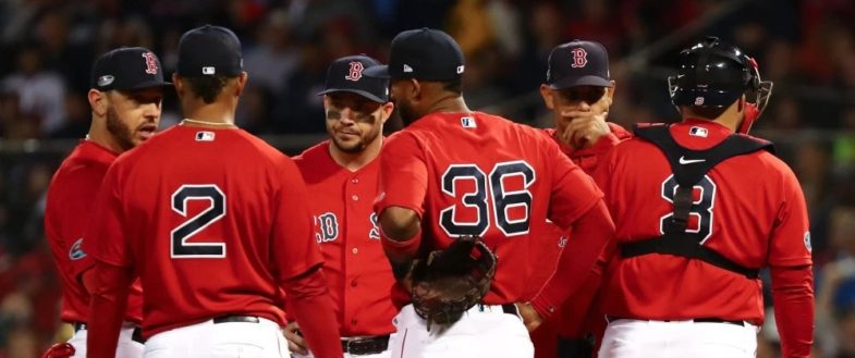 Il bull pen dei Boston Red Sox