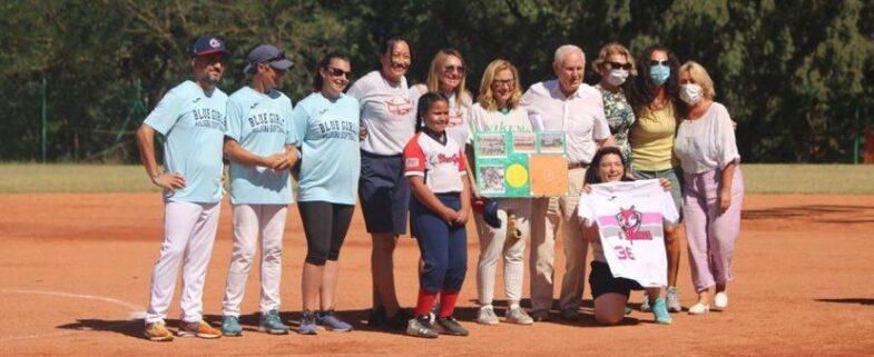 Nicoletta Mantovani torna sui campi di softball