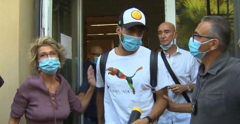 Luis Suarez il giorno dell'esame di Italiano