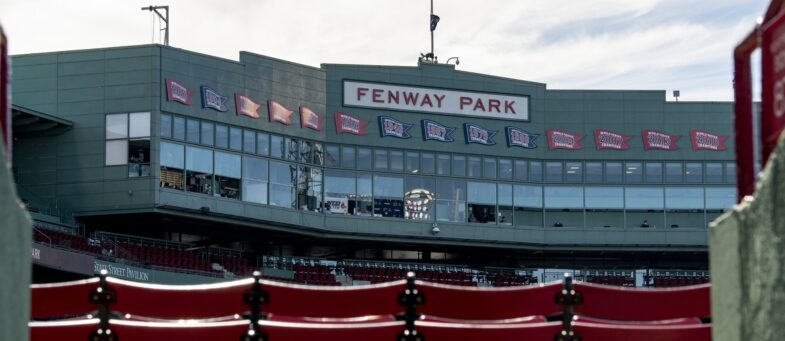 Fenway Park, lo storico stadio dei Red Sox in centro a Boston