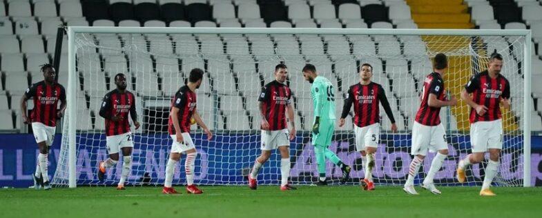 Il Milan sconfitto dallo Spezia